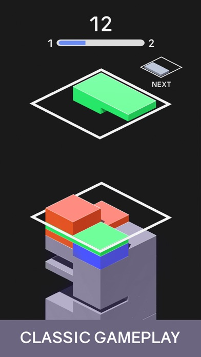 Juicy Stack - 3D Tile Puzzlе screenshot 1