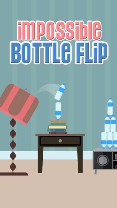 Screenshot from Impossible Bottle Flip