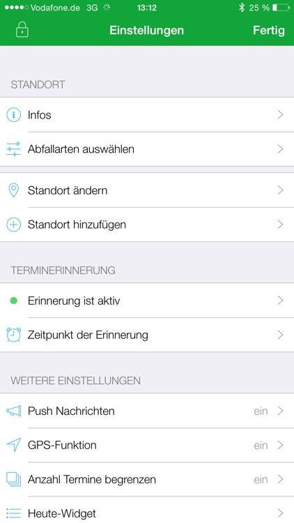 ZAK Abfall App screenshot-4