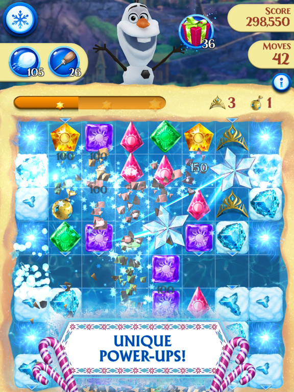 Frozen Free Fall - Revenue & Download estimates - Apple App Store - US
