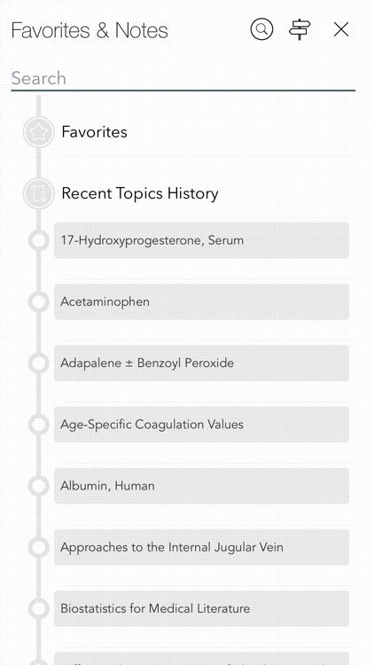Harriet Lane Handbook App screenshot-7