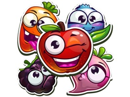Funny Fruits Stickers
