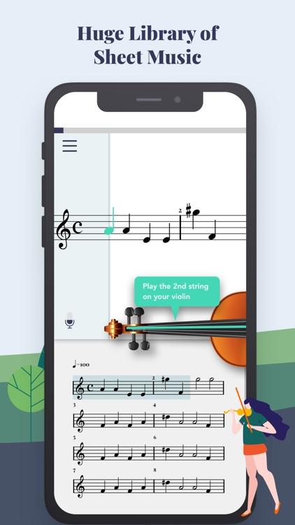 Trala: Learn Violin screenshot-3