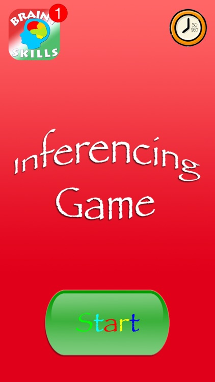 Brainy Skills Inferencing Game