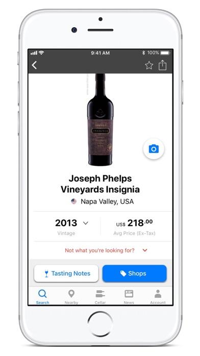 Wine-Searcher Screenshot