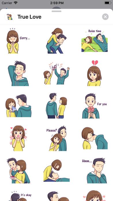 True Love - Stickers screenshot 2