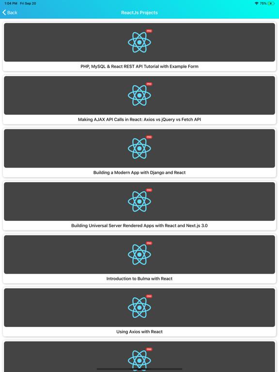 Learn React v16.12 Pro screenshot 13