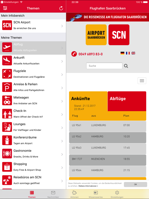 Screenshot #4 pour SCN Airport