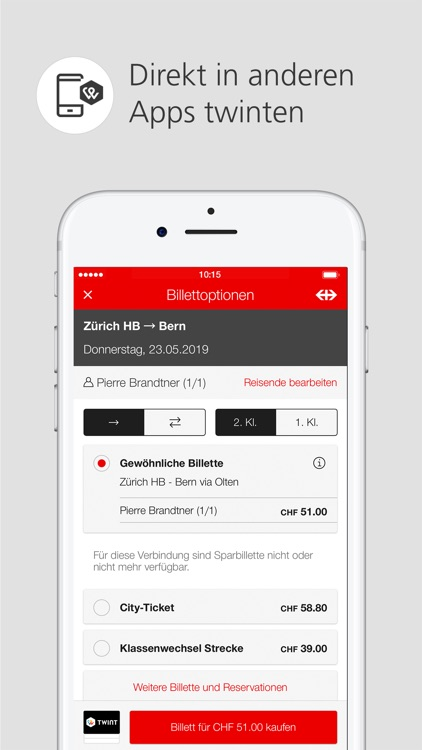 UBS TWINT: Mobile Payment App screenshot-4