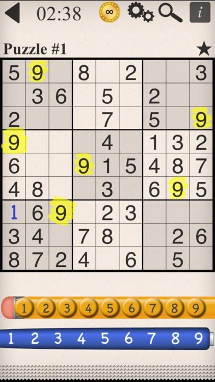 Eric's Sudoku –Classic Puzzles screenshot-0