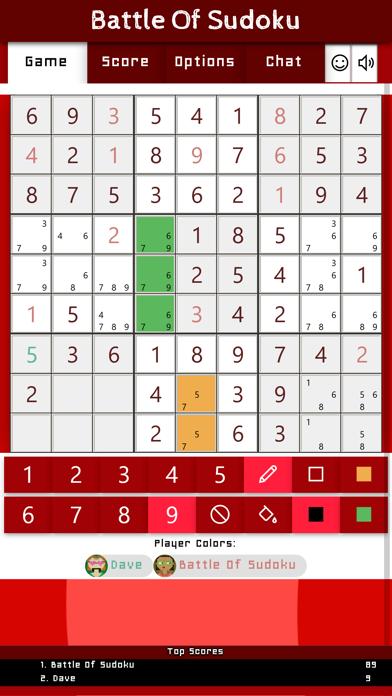 Battle Of Sudoku screenshot 4