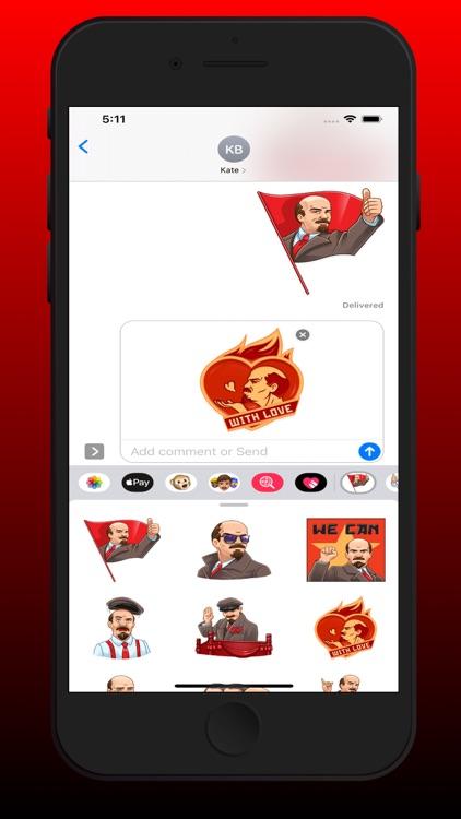Vladimir Lenin Stickers screenshot-3