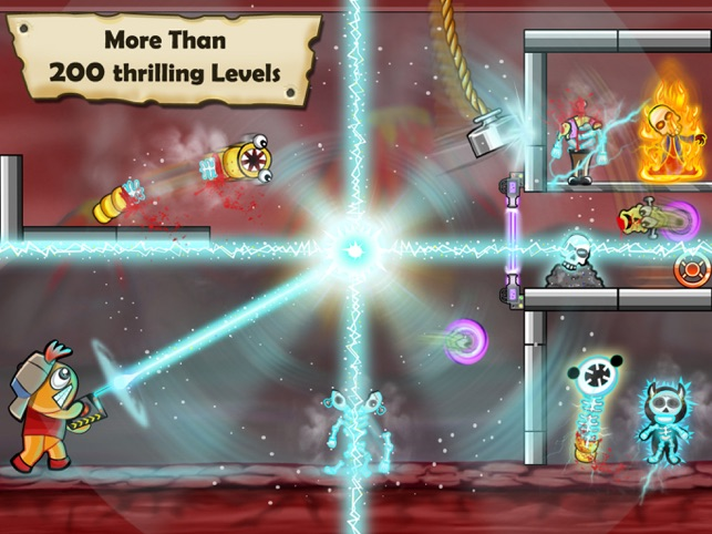 Bloody Monsters, game for IOS