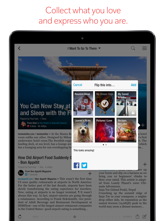 ‎Flipboard - Latest Stories Screenshot