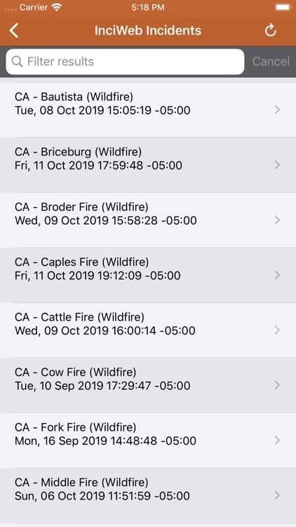 Wildfire Info screenshot-8