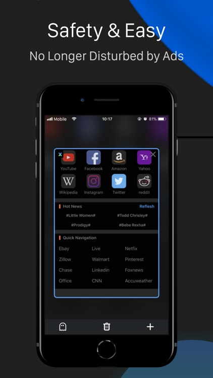 Dark Browser- Private&safe screenshot-4