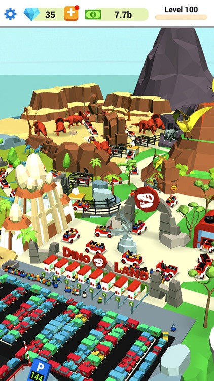 Idle Dino Park screenshot-0