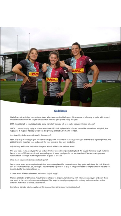NU Generation Rugby Magazine screenshot 2