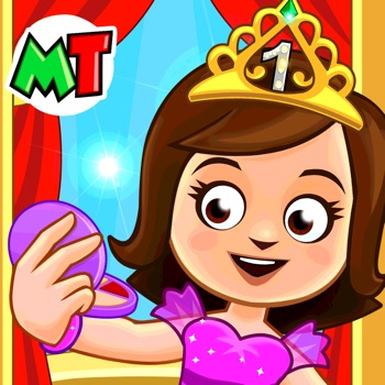 My Town : Beauty Contest Party Logo