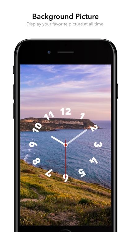 FaceClock Pro - Analogue Clock screenshot-0
