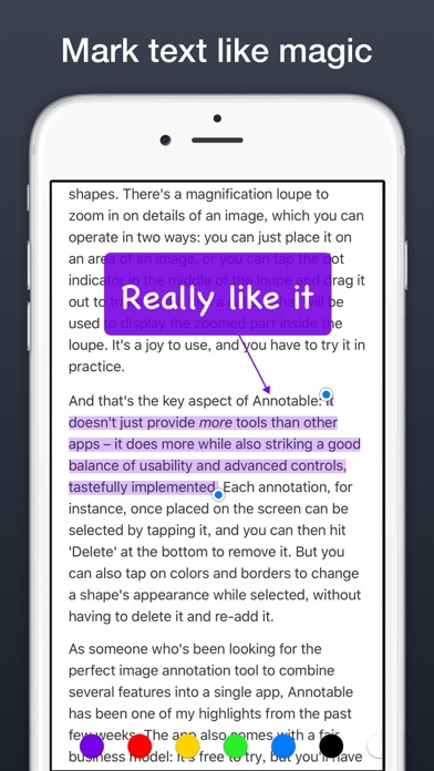 Annotable: Annotation & Markup IPA Cracked for iOS Free Download