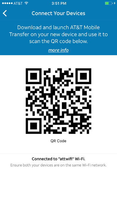 AT&T Mobile Transfer app image