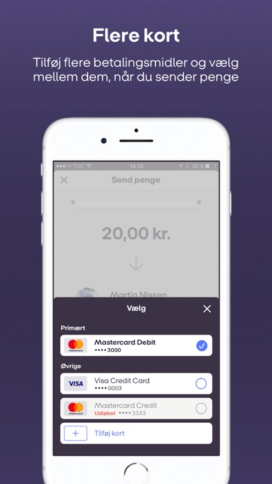 Screenshot for MobilePay in Denmark App Store
