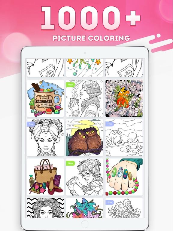 Magic Coloring - Paint Book screenshot 7