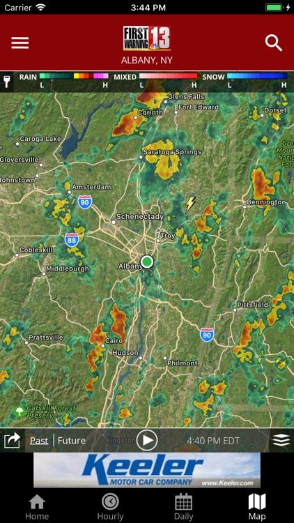 WNYT First Warning Weather screenshot-3