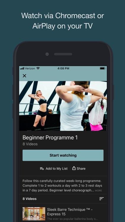 Sleek Ballet Fitness screenshot-4