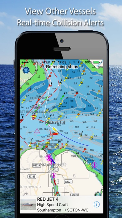 Screenshot for Boat Beacon in United States App Store