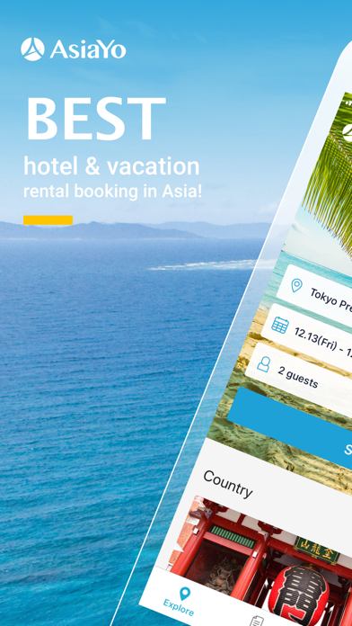 AsiaYo : Hotels & BnBs in Asiaのおすすめ画像1