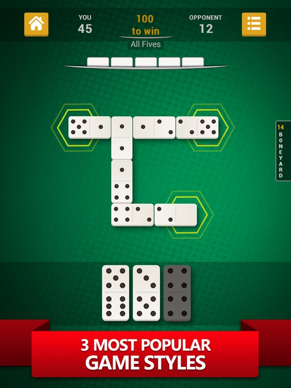 Dominoes - Best Domino Game для iPad