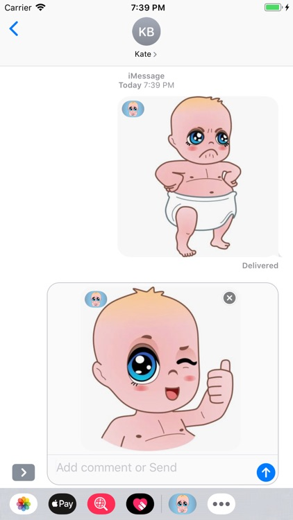 Cute Baby Expressions screenshot-3