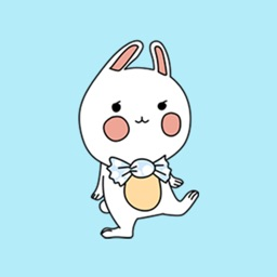 Baby Rabbit Sticker