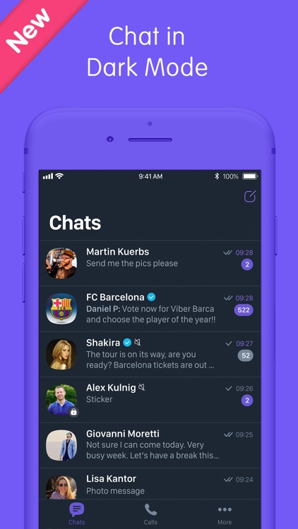 Viber Messenger: Chats & Calls screenshot-0