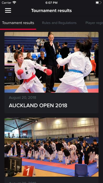 KarateNZ Screenshot
