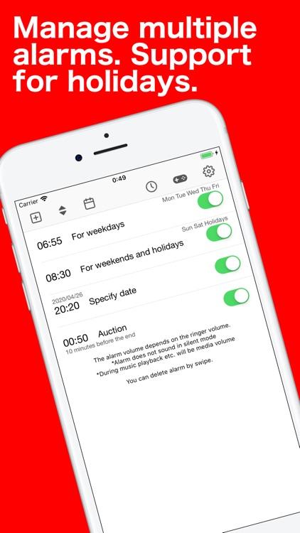 Sleep & Alarm Clock with Music screenshot-5