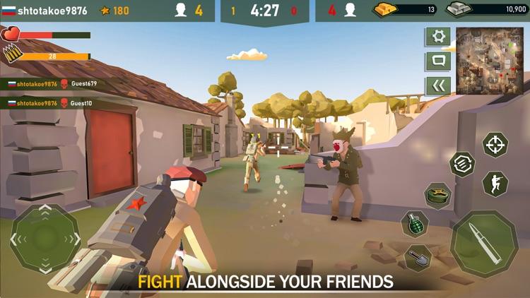 War Ops: WW2 Gun Shooting Game screenshot-5