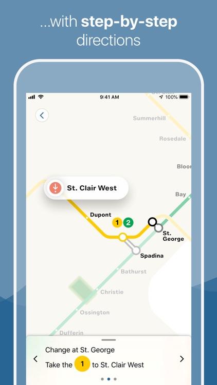 Toronto Subway Map screenshot-3