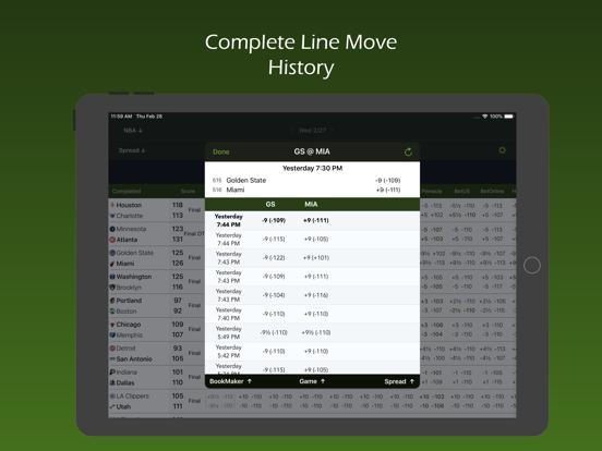 Live Scores & Odds screenshot