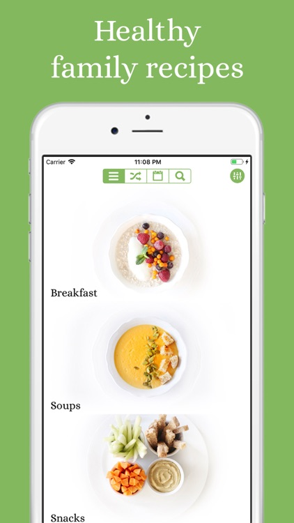 Mary's Recipes: Meal Planner screenshot-0