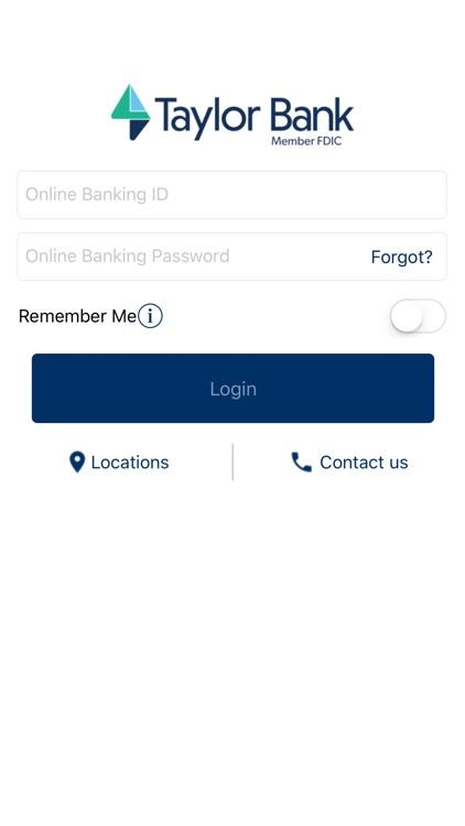 Taylor Bank Mobile