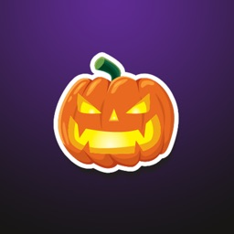 Hello Halloween Stickers