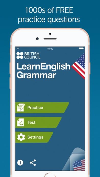 LearnEnglish Grammar (US ed.) screenshot one