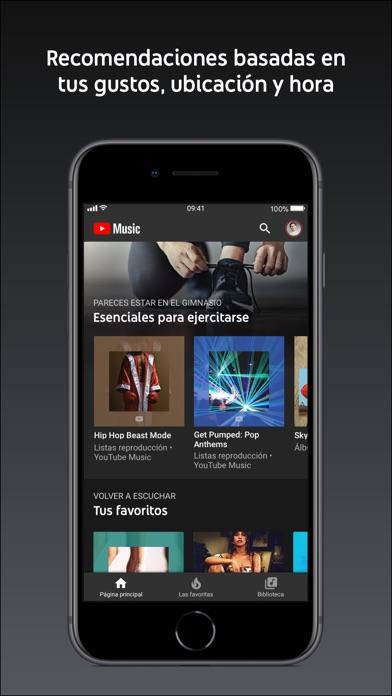 Screenshot for YouTube Music in Ecuador App Store