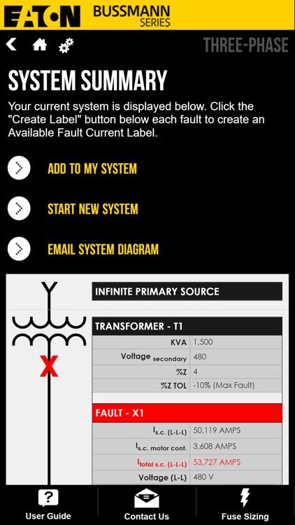 Fault Current Calculator screenshot-5