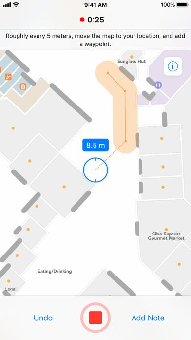 Indoor Survey Screenshot