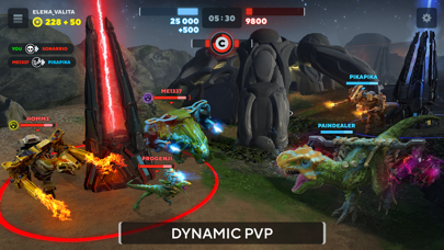 Dino Squad: Online Action screenshot 1