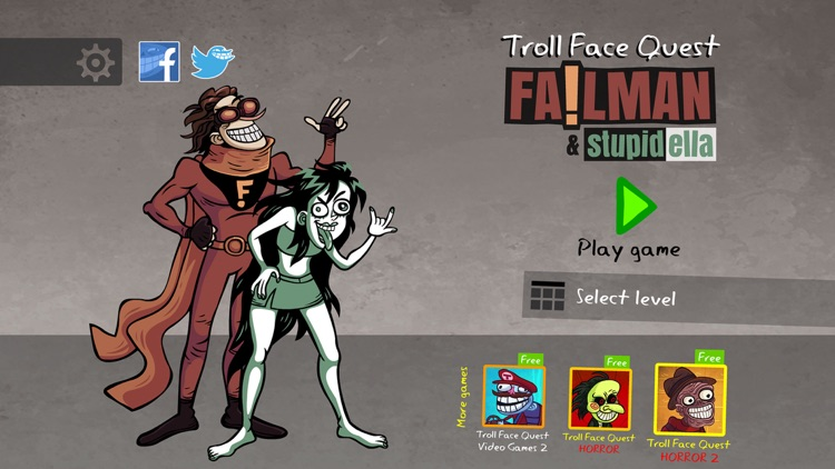 Troll Face Quest: Failman
